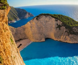 beautiful and beach image
