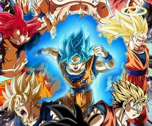anime, dragon ball z, and dragon ball super image