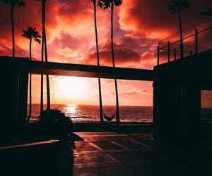 aesthetic and sunset image