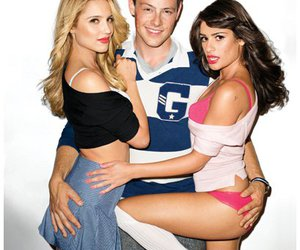 glee, rachel berry, and dianna agron image