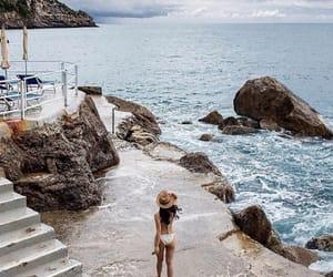 ocean, summer, and bikini image