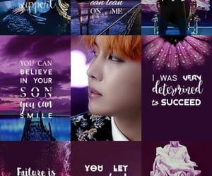 aesthetic, korean, and Lyrics image