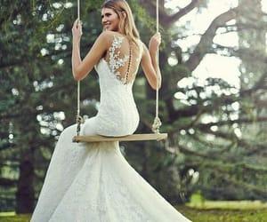 beautiful, princess, and wedding dress image