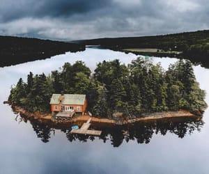 Island, travel, and house image