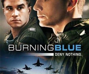 film, movie, and burning blue image