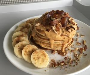 food, healthy, and pancake image