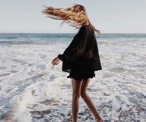 beach, fun, and girl image