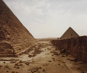 culture, egypt, and pyramids image
