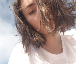 hair, short, and sky image