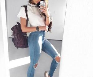 moda, tumblr, and white image