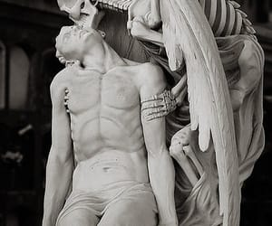 Darkness, death, and sculptures image