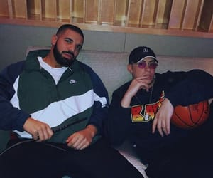 Drake, bad bunny, and champagnepapi image