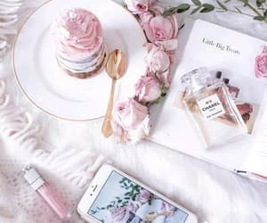 pink, chanel, and roses image