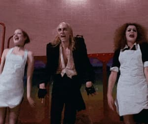 gif, The Rocky Horror Picture Show, and 70's movies image
