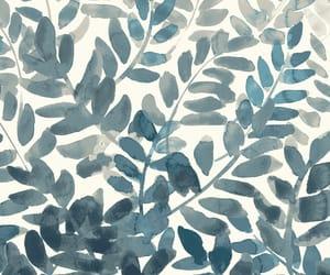 background, girl, and leaf image