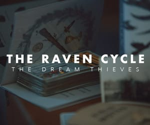 book, maggie stiefvater, and the raven cycle image