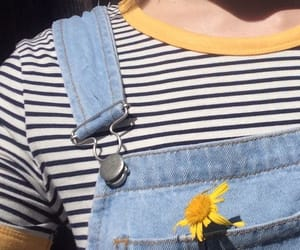 aesthetic, yellow, and indie image