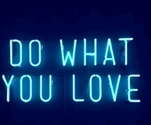 blue, loveu, and blue neon image