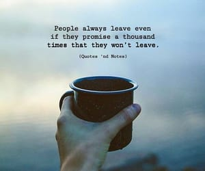 leave, quotes, and people image