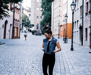 city, jeans, and denim image