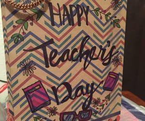 gift, teacher, and teacher's day image
