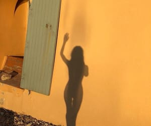 body, girl, and shadow image