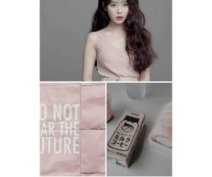 grey, pink, and iu image