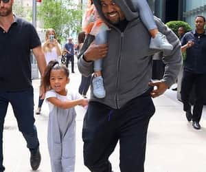 kanye west and north west image