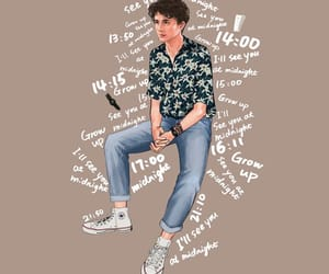 timothee chalamet, cmbyn, and love image