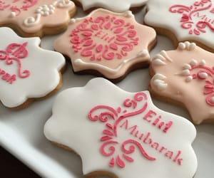 cookie and eid mubarak image