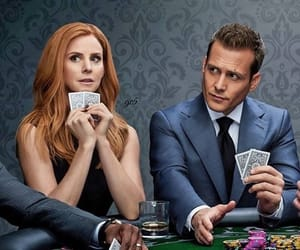 suits, love, and harvey and donna image