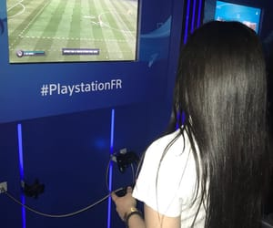 game, hair, and playstation image