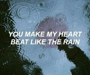 grunge, quotes, and rain image