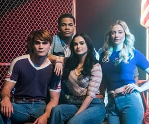 riverdale, lili reinhart, and kj apa image