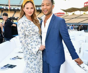 couple, married, and chrissy teigen image