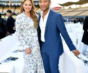 couple, chrissy teigen, and love image