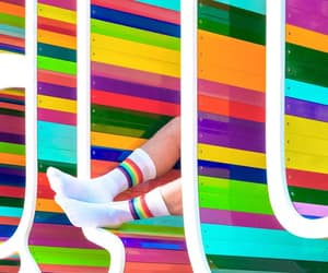 colorful, colors, and lines image
