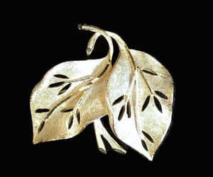 etsy, leaf jewelry, and autumn jewelry image