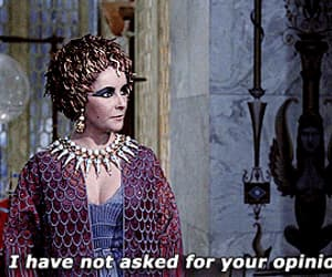 cleopatra, gif, and Elizabeth Taylor image