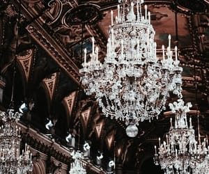 architecture and chandelier image