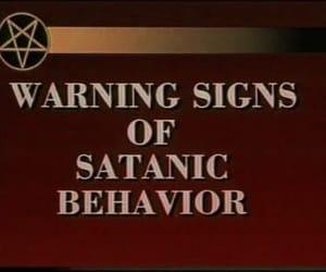 goth, satan, and satanic image