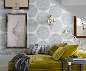 chaise, home, and decor image