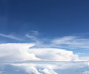clouds, photography, and skyview image