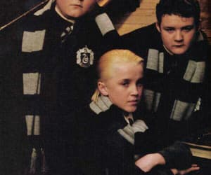 slytherin, harry potter, and crabbe image