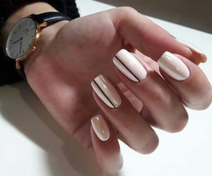 elegance, nails, and cute image