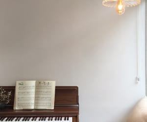 piano, beige, and inspiration image