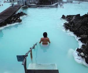 travel, blue, and iceland image