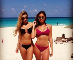 beauty, best friends, and girls image