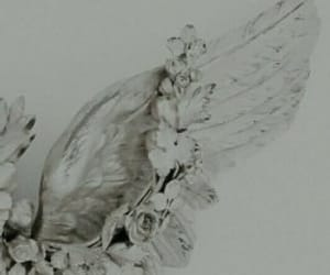 angel, Angel Wings, and pale image