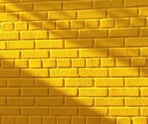 yellow, wallpaper, and wall image